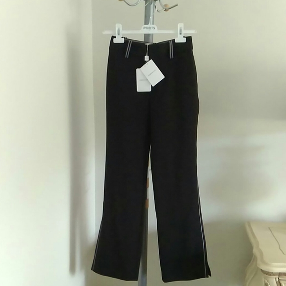Ports 1961 Black relax trousers NWT